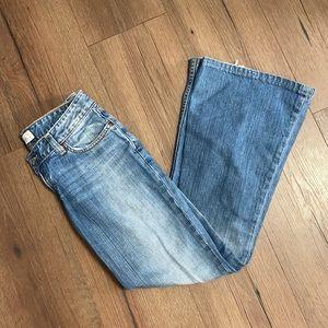 BKE Denim Light Wash Star 22 Flare Jeans
